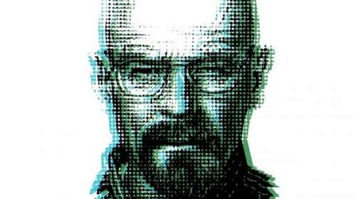 Camiseta Breaking Bad. Heisenberg