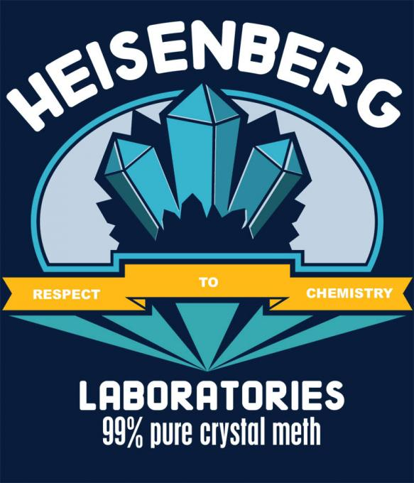 Camiseta Breaking Bad. Heisenberg laboratories