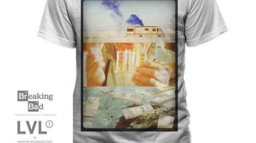 Camiseta Breaking Bad. Imágenes
