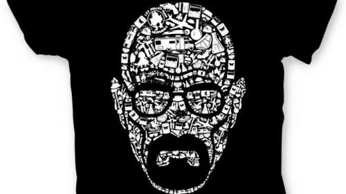 Camiseta Breaking Bad. Walter White
