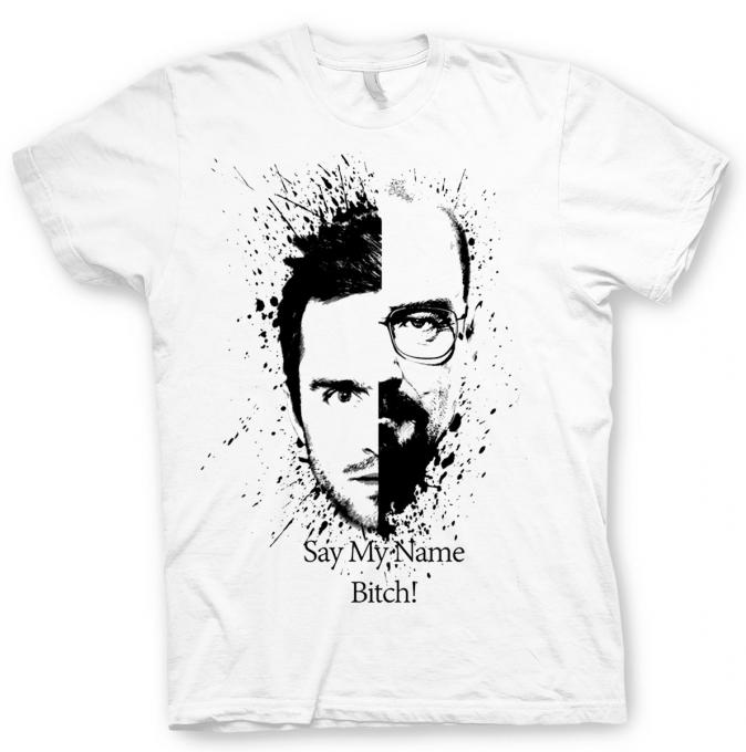 Camiseta Breaking Bad. Walter vs Jesse
