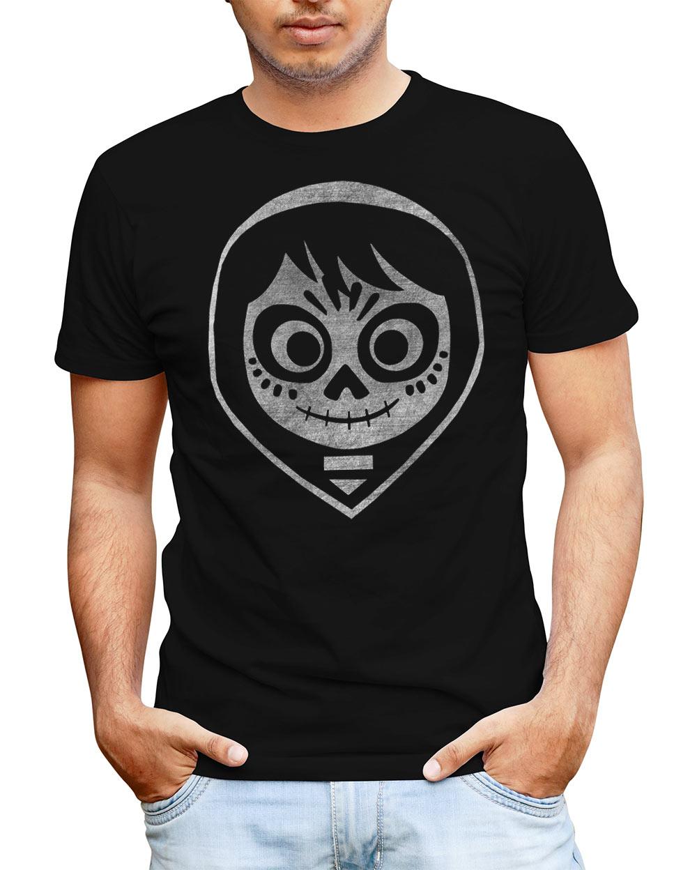 Camiseta Coco. Miguel Skull