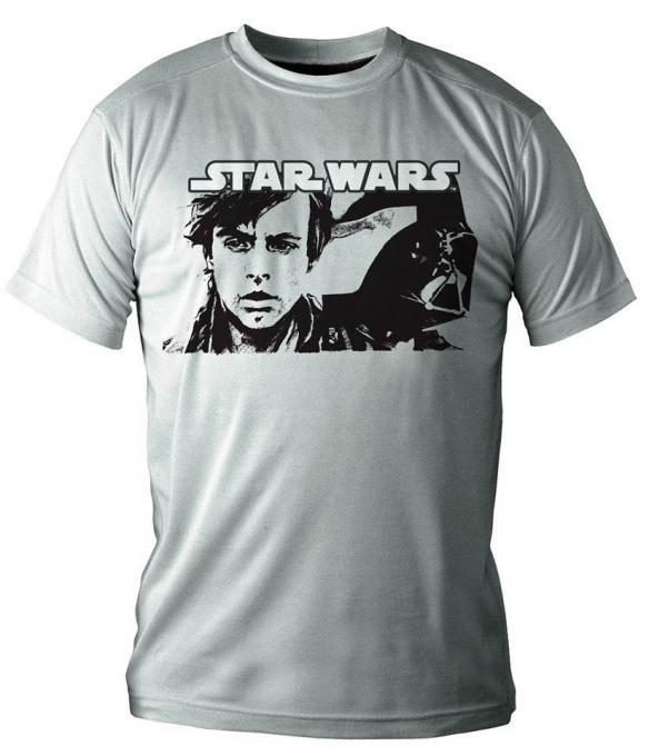 Camiseta Darth Vader & Luke. Star Wars