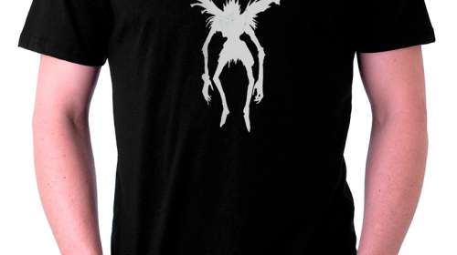 Camiseta Death Note Ryuk vuelo