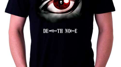 Camiseta Death Note ojo