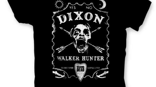 Camiseta Dixon Board. The Walking Dead