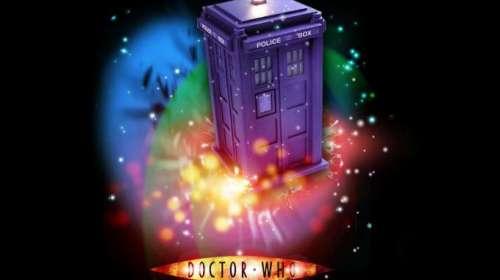 Camiseta Doctor Who. Tardis tipo 40