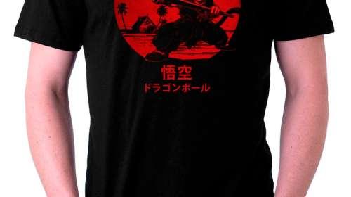 Camiseta Dragon Ball Z Son Goku lucha