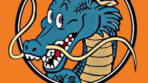 Camiseta Dragon Ball Z. Dragón sagrado. Modelo 2