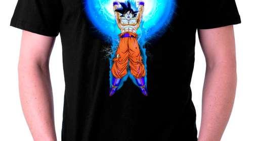 Camiseta Dragon Ball Z. Son Goku Spirit Bomb