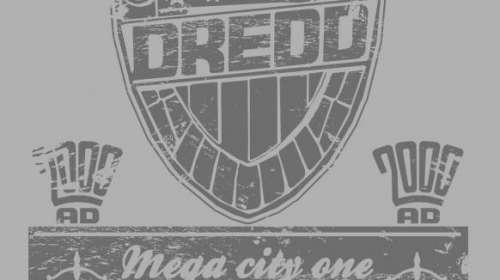 Camiseta Dredd. Juez