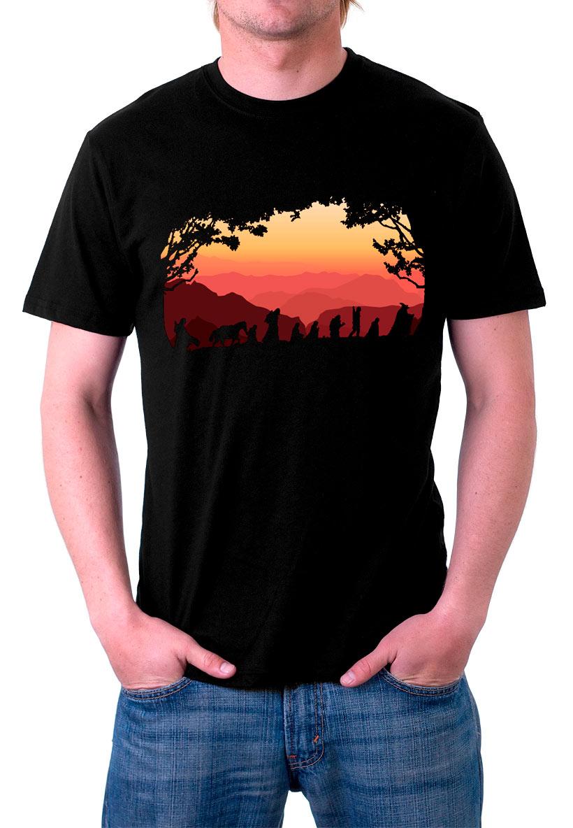Camiseta El Hobbit Tesoro Dragon Smaug