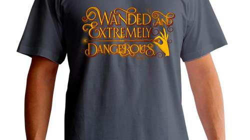 Camiseta Extremadamante peligrosos. Animales fantásticos y donde encontrarlos