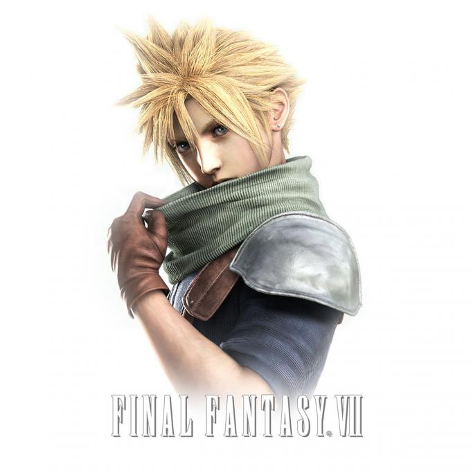 Camiseta Final Fantasy VII. Cloud