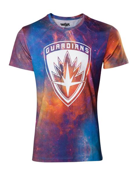 Camiseta Guardianes de la Galaxia 2. Logo