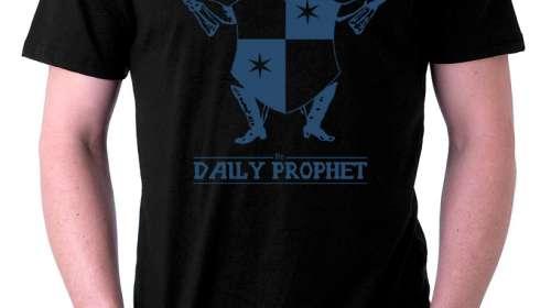 Camiseta Harry Potter Daily Prophet logo
