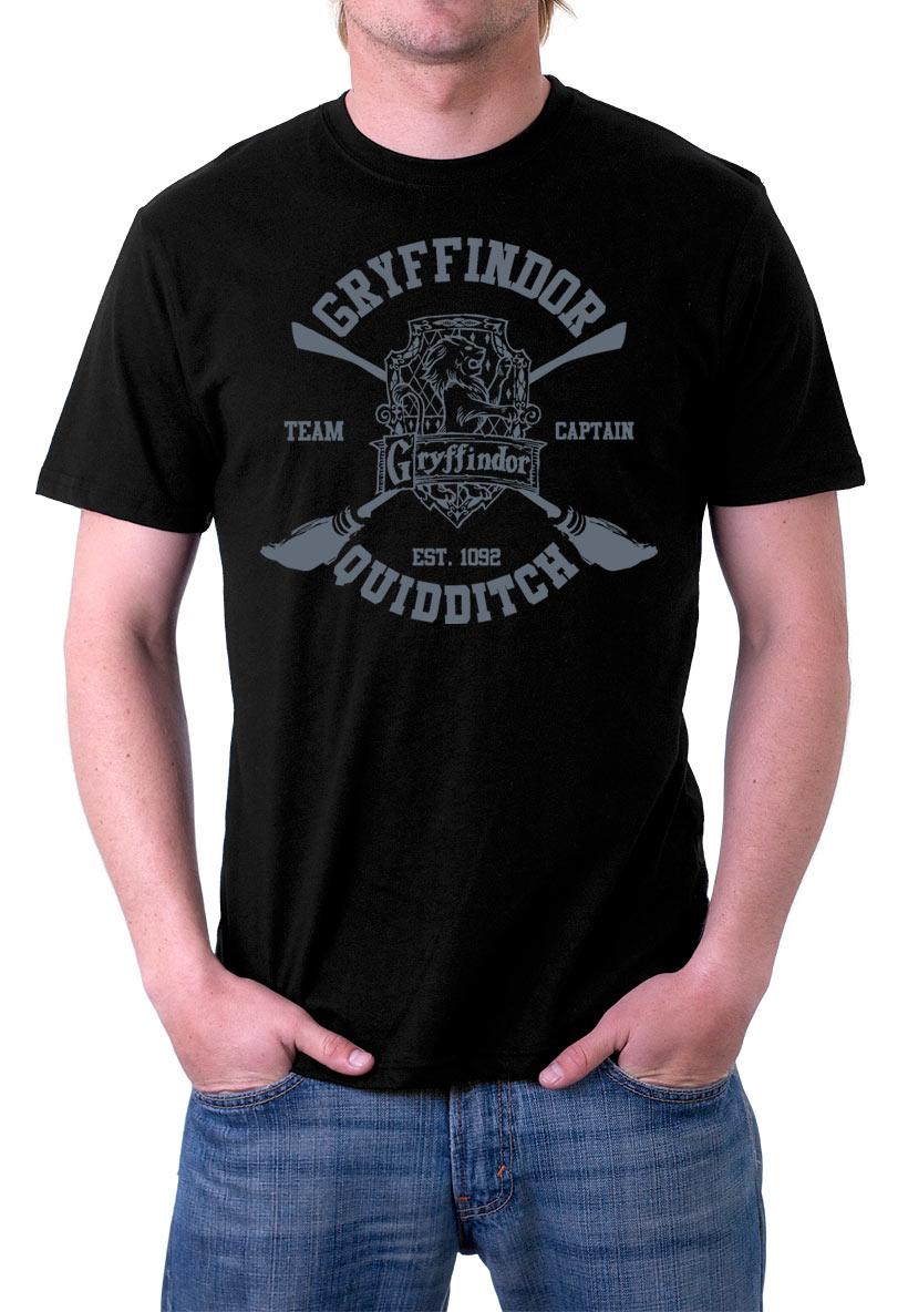 Camiseta Harry Potter Gryffindor Team Captain Quidditch