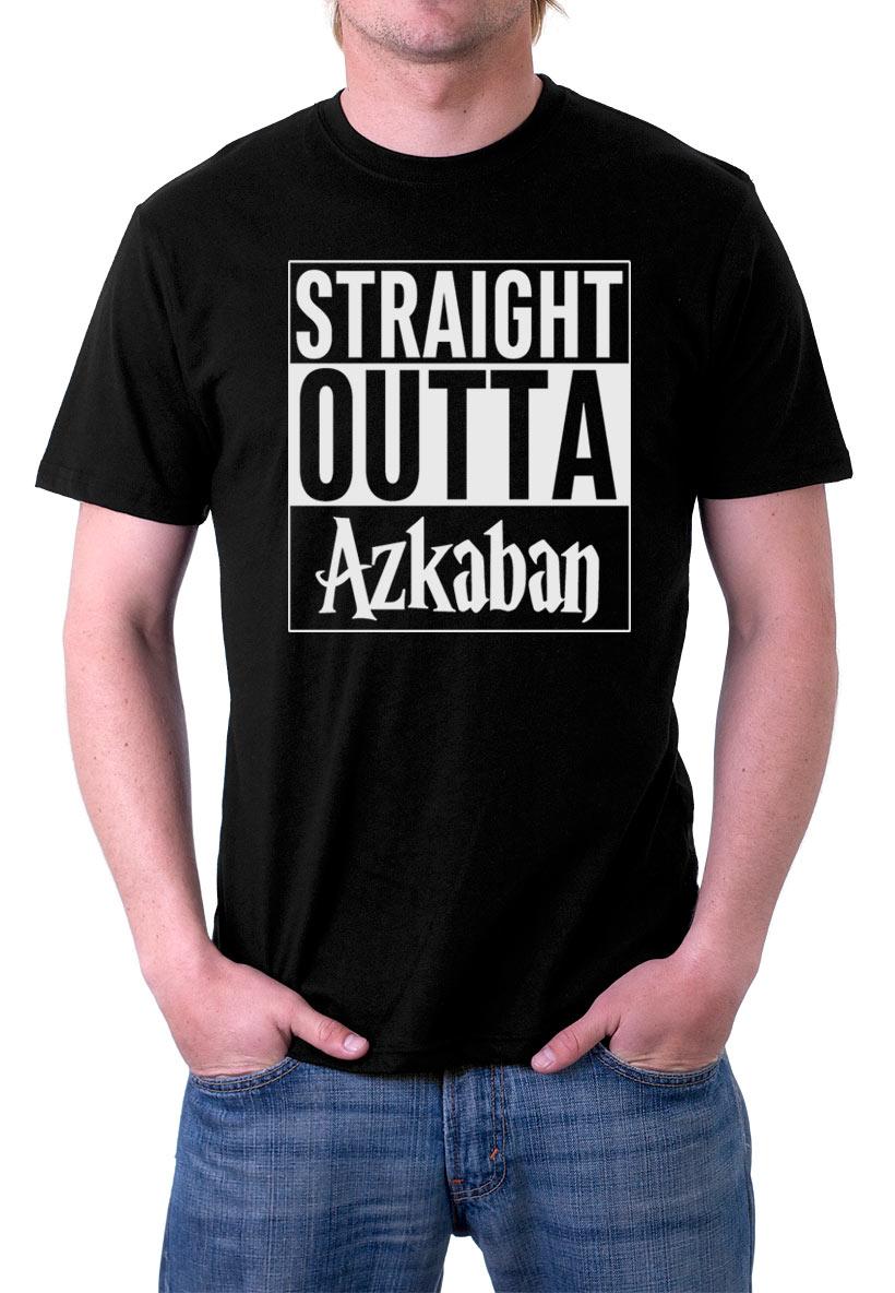 Camiseta Harry Potter Straight Outta Azkaban