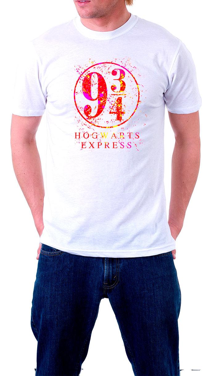 Camiseta Hogwarts Express. Harry Potter