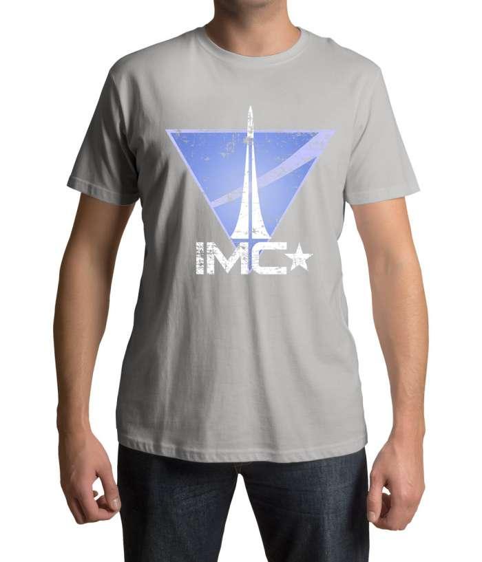 Camiseta IMC logo. Titanfall