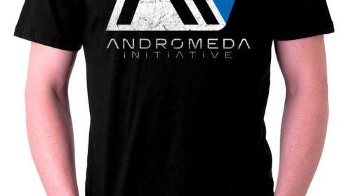 Camiseta Initiative logo. Mass Effect: Andromeda