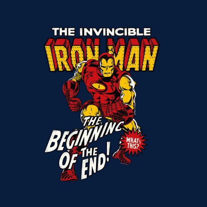 Camiseta Iron Man. Cómic