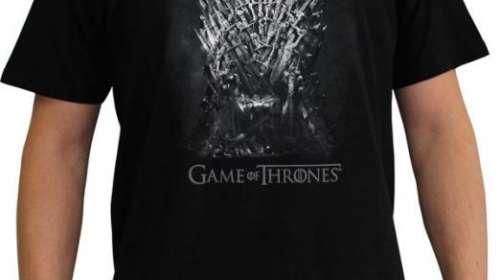 Camiseta Juego de Tronos. Trono de hierro