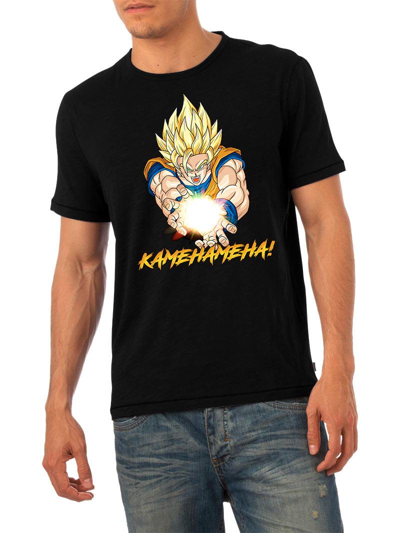 Camiseta Kamehameha!. Dragon Ball Z. Modelo 1