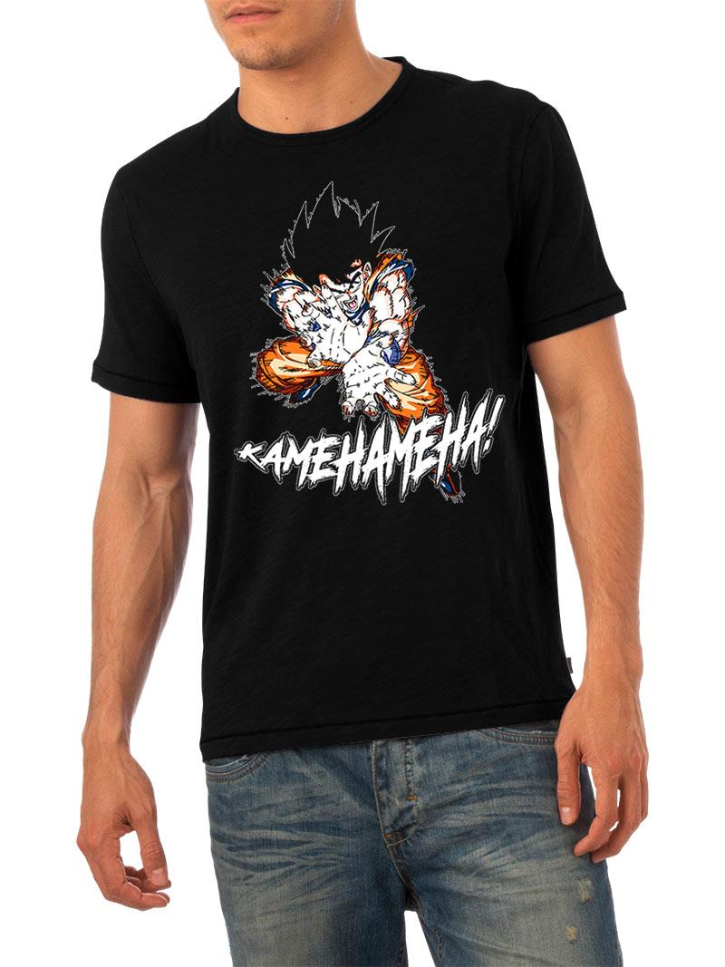 Camiseta Kamehameha!. Dragon Ball Z. Modelo 3