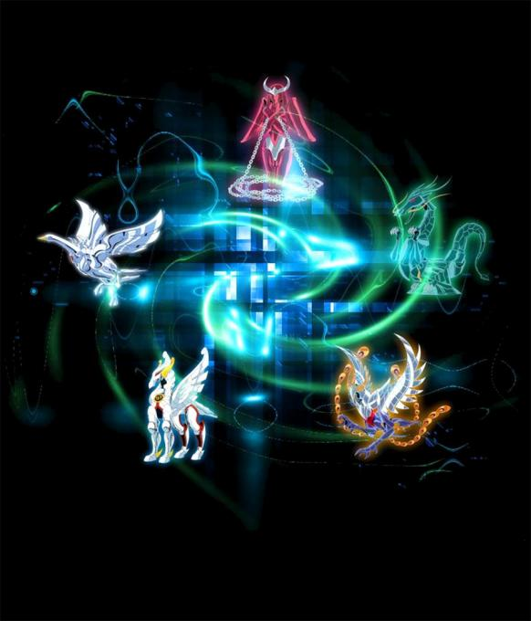 Camiseta Los Caballeros del Zodiaco