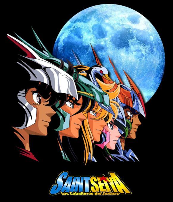 Camiseta Los Caballeros del Zodiaco. Luna