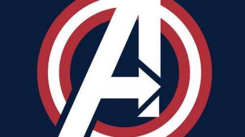 Camiseta Los Vengadores (The Avengers). Logo América
