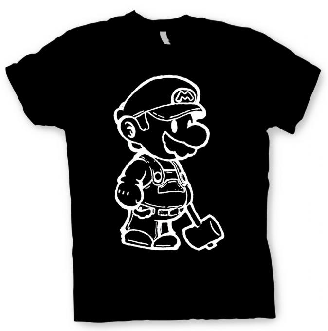 Camiseta Mario Bros