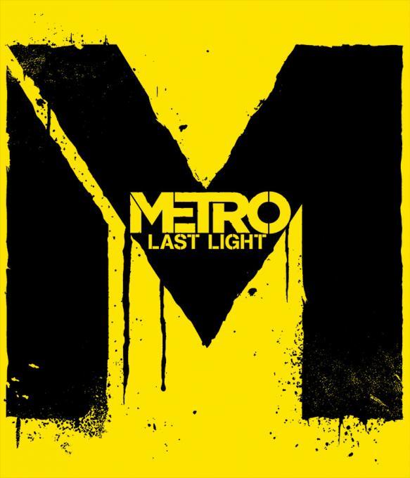 Camiseta Metro: Last Light. Logo. Modelo 2