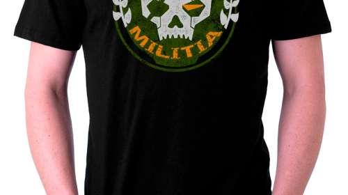 Camiseta Militia logo. Titanfall