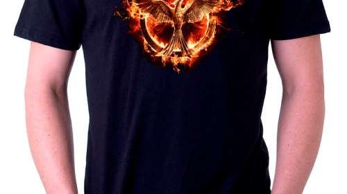 Camiseta Mockingjay. Los Juegos del Hambre