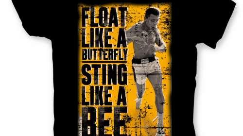 Camiseta Muhammad Ali