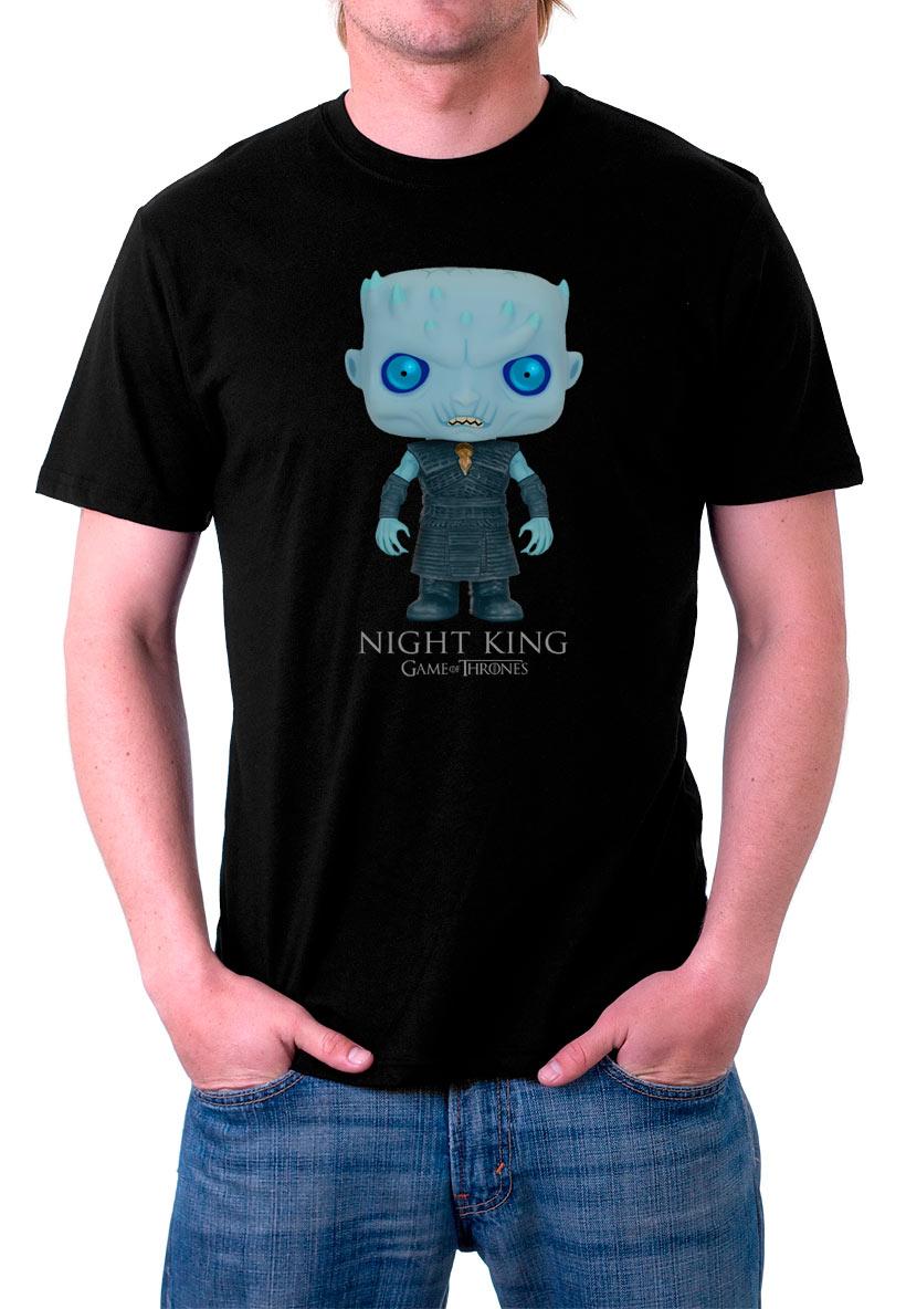 Camiseta Night King Cartoon. Juego de Tronos