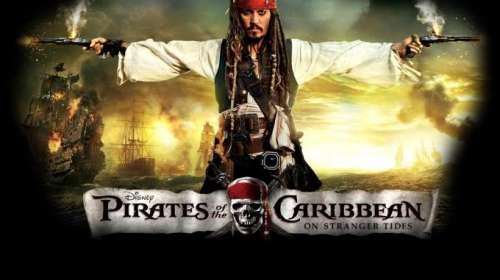 Camiseta Piratas del Caribe: en mareas misteriosas. Jack Sparrow