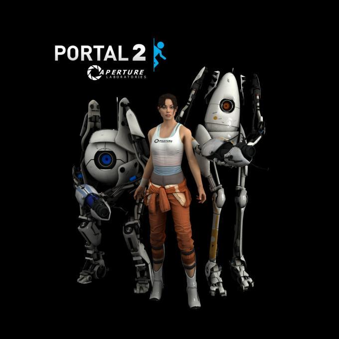 Camiseta Portal 2. Aperture Lab.