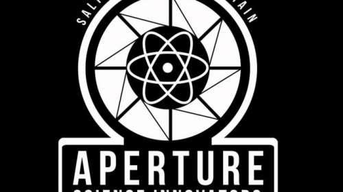 Camiseta Portal. Aperture Science