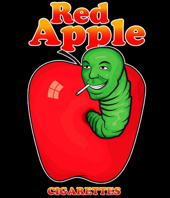 Camiseta Pulp Fiction. Red Apple
