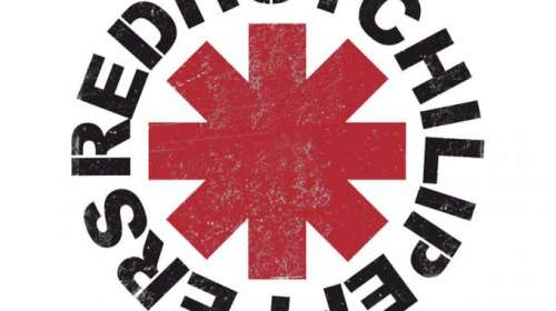 Camiseta Red Hot Chili Peppers. Logo