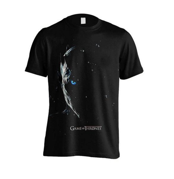 Camiseta Rey de la Noche. Juego de Tronos Temporada 7