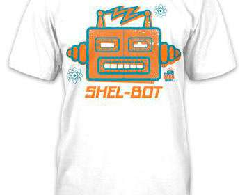 Camiseta Shel-bot. The Big Bang Theory