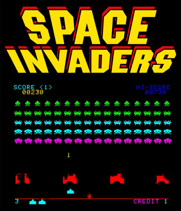Camiseta Space Invaders. Invasión Alien