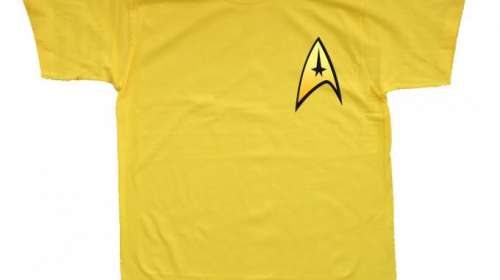 Camiseta Star Trek. Logo Starfleet