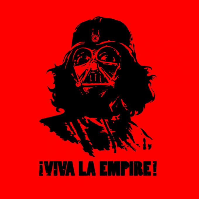 Camiseta Star Wars. Darth Vader como Che Guevara