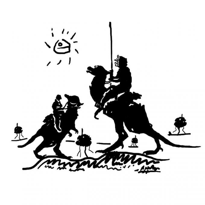 Camiseta Star Wars. Don Quijote