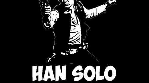 Camiseta Star Wars. Han Solo weapons